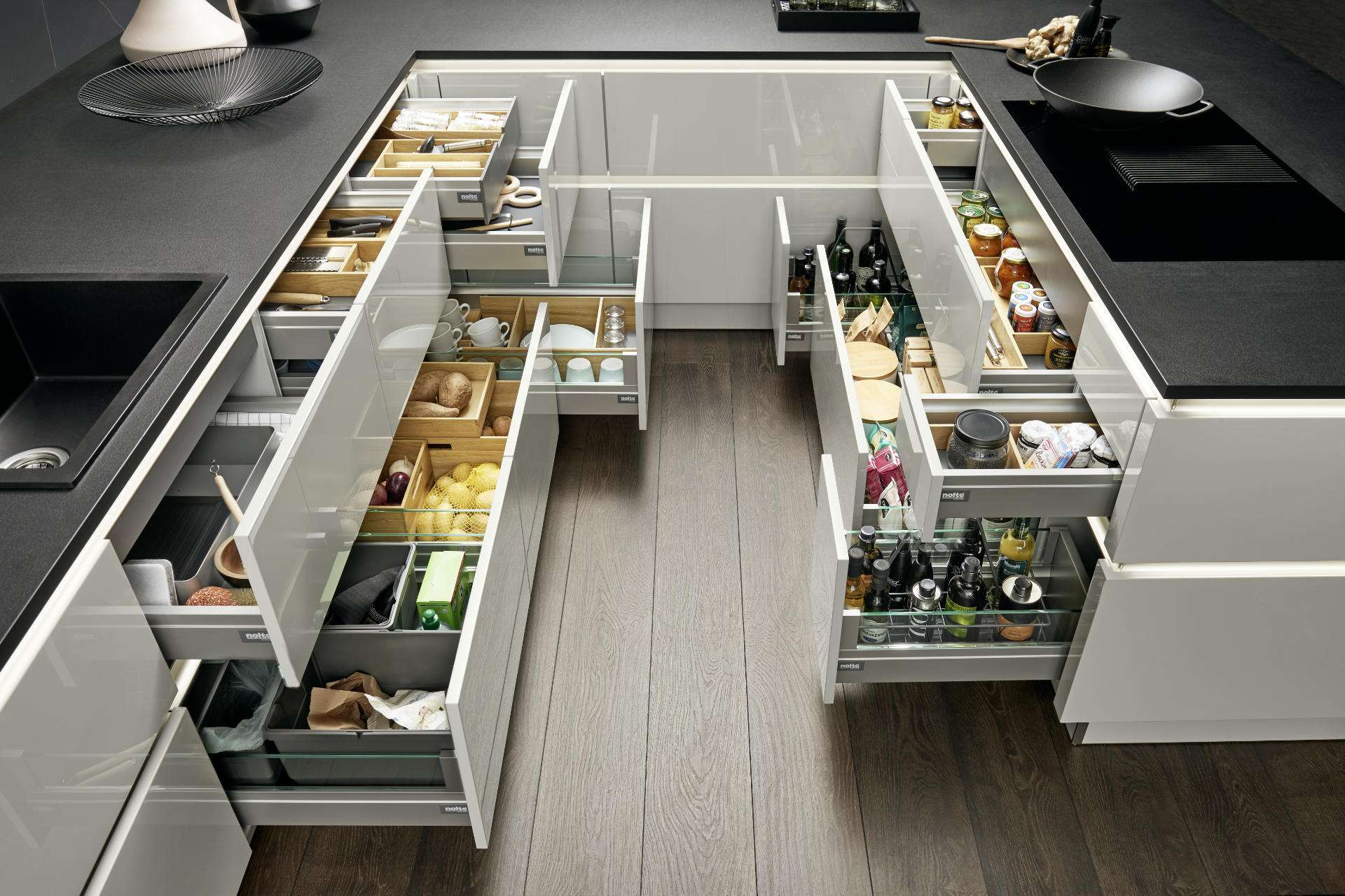 Rangements de cuisine tiroir NOLTE